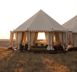 Tented Camps - Robert Mark Safaris - Luxury African Safaris