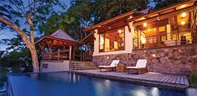 Enchanted Island Resort - Robert Mark Safaris - Luxury African Safaris