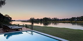 Amanzi Camp - Robert Mark Safaris - Luxury African Safaris