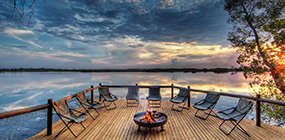 Xugana Island Lodge - Robert Mark Safaris - Luxury African Safaris