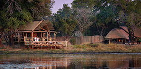 Eagle Island Lodge - Robert Mark Safaris - Luxury African Safaris