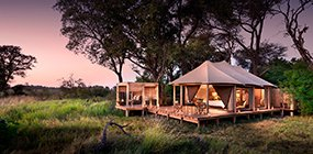 Nxabega Okavango Tented Camp - Robert Mark Safaris - Luxury African Safaris