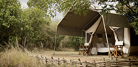 Serian's Nkorombo Camp - Robert Mark Safaris - Luxury African Safaris