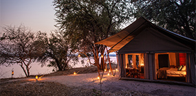 Sapi Explorers Camp - Robert Mark Safaris - Luxury African Safaris