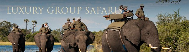 Luxury Group Safaris - Robert Mark Safaris - Luxury African Safaris