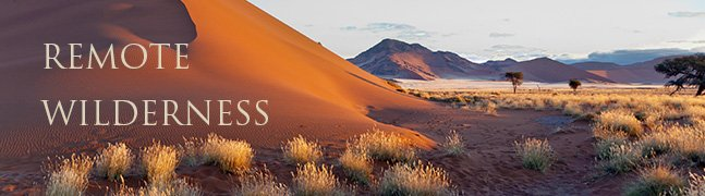 Remote Wilderness Safaris - Robert Mark Safaris - Luxury African Safaris
