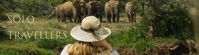 Solo Travellers - Robert Mark Safaris - Luxury African Safaris