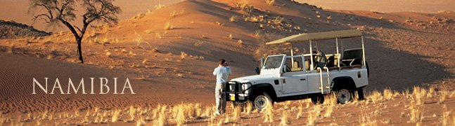 NAMIBIA - Robert Mark Safaris - Luxury African Safaris